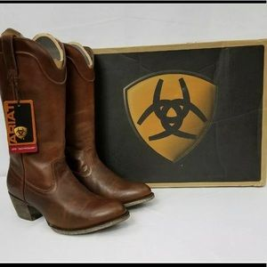 Ariat Bluebell Vintage Caramel Leather Boot 6.5M